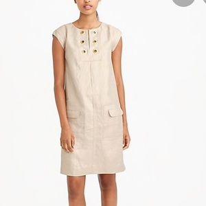 J. Crew Linen Dress, NWOT